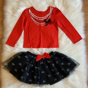 Children's Place two pieces tutu dress. 5T girl